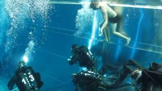 First time scuba diving. Funny moments! Diving school.