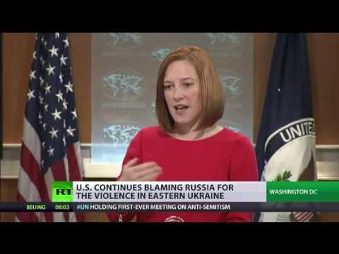 Psaki grilled over Ukraine's noncompliance with Minsk peace agreements
