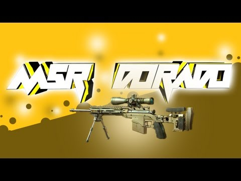 MSR de Oro - Sniper Gameplay - Live - Modern Warfare 3