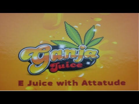 Ganja Juice E Liquid Review 2014 - 9 Cannabis Flavors