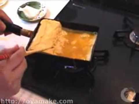 0 Omama Japanese Cooking #11   Dashi Maki