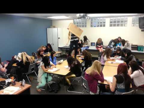 Fremont High School Drill Team ~HARLEM SHAKE~