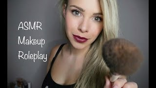 ASMR Doing Your Makeup Roleplay