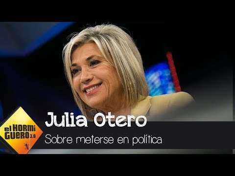 Julia Otero confiesa en 'El Hormiguero' si se metería en política - El Hormiguero 3.0