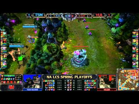 TSM vs VUL | GAME3 Spring LCS Playoffs - 1080HD