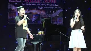 bé huỳnh nguyễn gia hân - huy hoàng - trung tâm âm nhạc music soul ; 0246 326 5555