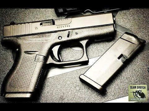 Glock 42 380 acp Pistol Full Review