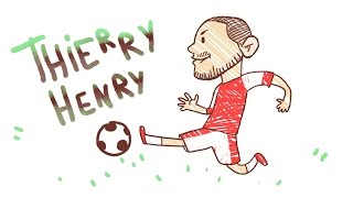THIERRY HENRY - Draw My Life