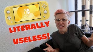 Nintendo Switch Lite Reveal Reaction
