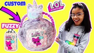 LOL FUZZY PETS CUSTOM BIGGER SURPRISE LOL SURPRISE FUZZY PETS OPENING  PLACEMENT WEIGHT HACKS (2019)