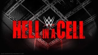 WWE Hell In A Cell 2016 Match Card