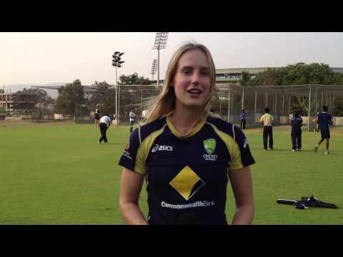 Australian sportswoman Ellyse Perry talks soccer, cricket and teamwork.