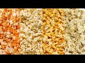 1 million pieces of popcorn in a pool!!!