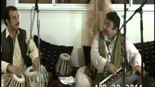 Afghan ghazal song  Mahboobullah Mahboob rafta rafta be to inak azmi raftan raftan ast