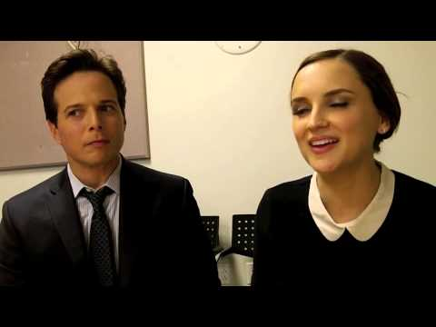 Scott Wolf and Rachael Leigh Cook Talk PERCEPTION