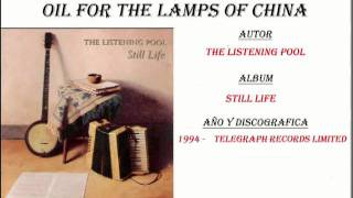 Watch Listening Pool Oil For The Lamps Of China video