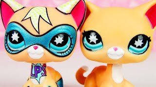 LPS Superhero Cat WITHOUT MASK!? (Customize With Me!)