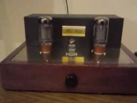 Tube Amplifier 2x 6L6GC 12AT7 DIY SE