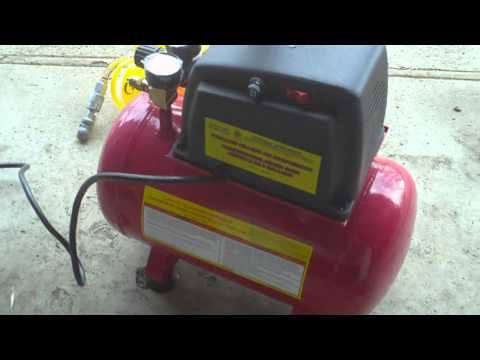 Harbor Freight air compressor review