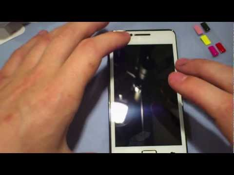 SGP Glas Screen Shield for Samsung Galaxy S2 review and install