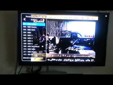 Live Arabic tv IPTV4U box