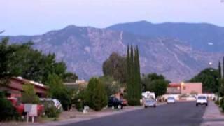Sierra Vista Drone Aerial View