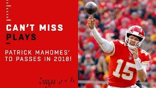 Mahomes Sets Chiefs Single-Season TD Record, Check Out All of Them!