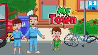 My Town : Fire station Rescue - Rescue Mission for Kids