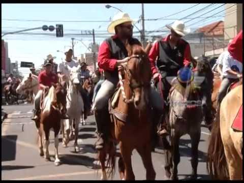 126 anos de Uberlândia - Abertura da Cavalgada do Camaru reuniu 3 mil pessoas