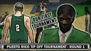 NCAA Basketball 10 | William & Marry Tribe #5 | Our First Tournament