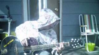 Razorian playing guitar for youtube part 1