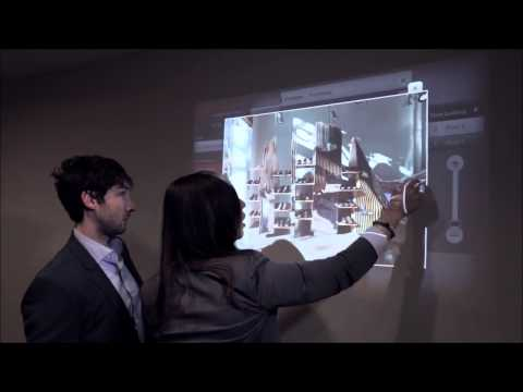 Ubi Interactive  Turn any surface into a touch screen