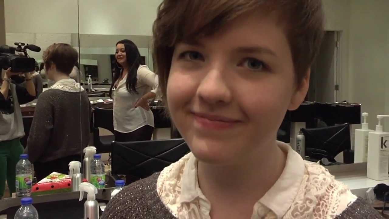 Aislinn Gets Her Hair Cut Youtube