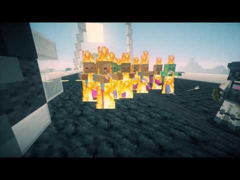 Minecraft Zombie Apocalypse Movie Trailer