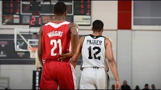 Andrew Wiggins vs. Jabari Parker in Summer League Debuts