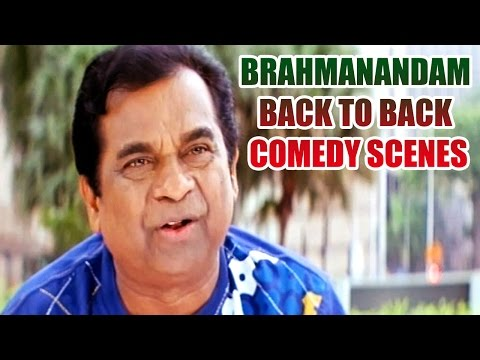Brahmanandam Back To Back Comedy Scenes || Vol 3 video