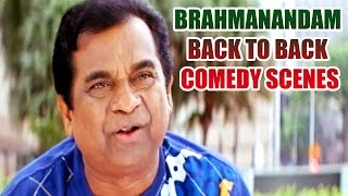 Brahmanandam Back To Back Comedy Scenes || Vol 3
