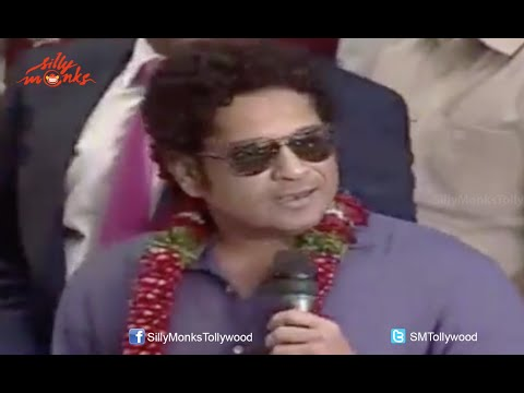 Sachin Tendulkar Speaks Telugu @ PVP Square Mall Launch In Vijayawada - Exclusive