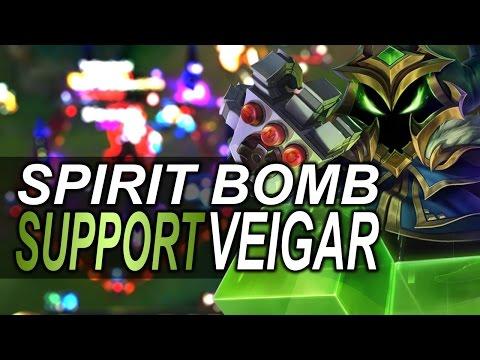VEIGAR SUPPORT GUIDE TO SSJ VEIGAR SPIRIT BOMB S6