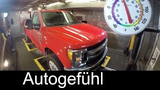 2017 Ford Super Duty Truck Testing F450 F350 F250 - Autogefühl