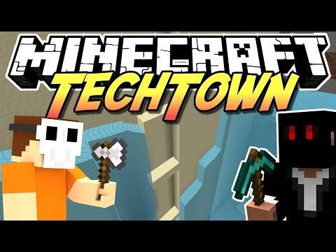 Minecraft TechTown - LOCH STOPFEN #142 | DEBITOR - auf gamiano.de