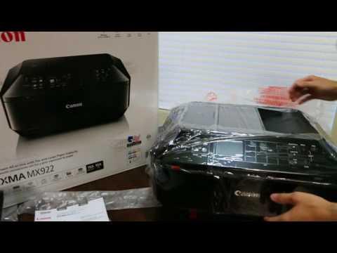 ⋆⋆⋆⋆⋆ Canon PIXMA MX922 Unboxing & Review