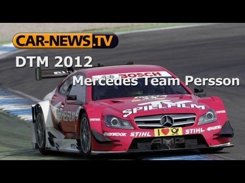 DTM 2012 - Persson Motorsport (#23 Roberto Merhi | #24 Susie Wolff)