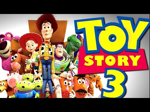 Toy Story 3 Full Story Walkthrough Disney Video Game HD All English 2015