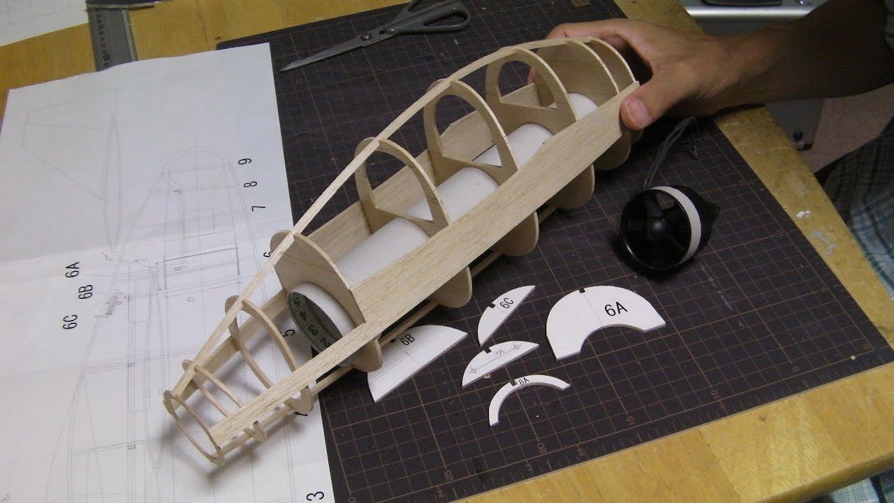 Fuselage Building Build Fuselage of Blohm Voss