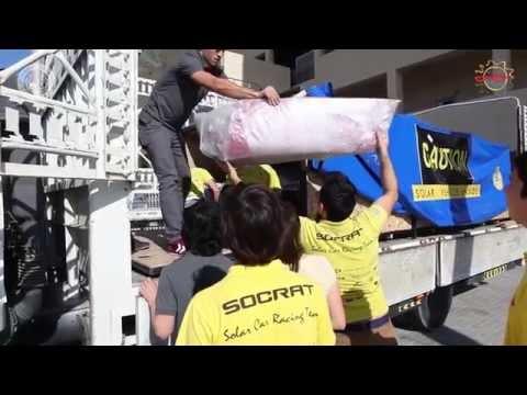 İÜ Güneş Enerjili Araç Takımı SOCRAT - Abu Dhabi Solar Challenge 2015
