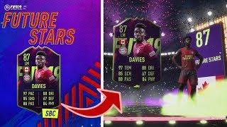 FIFA 19 : LOHNT SICH DIE FUTURE STAR ALPHONSO DAVIES SBC?? 🤔 | 4 STERNE SKILLSI ?! 🤔