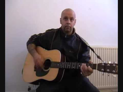 Jimmy Reed BIg boss man acoustic cover by Tony Alles