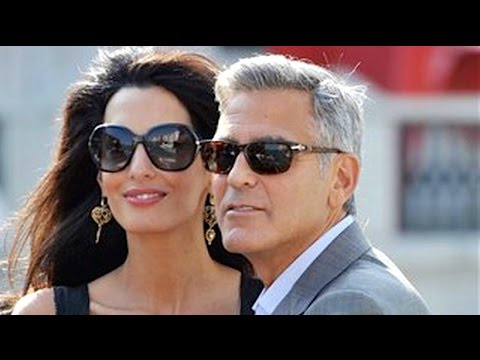 Amal Alamuddin Weds Some Actor in Venice