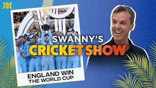 England win the Cricket World Cup | Swanny's Cricket Show #8